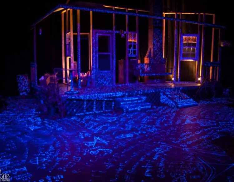 "Lighting Design for Keene State College's Production of ""Proof"""