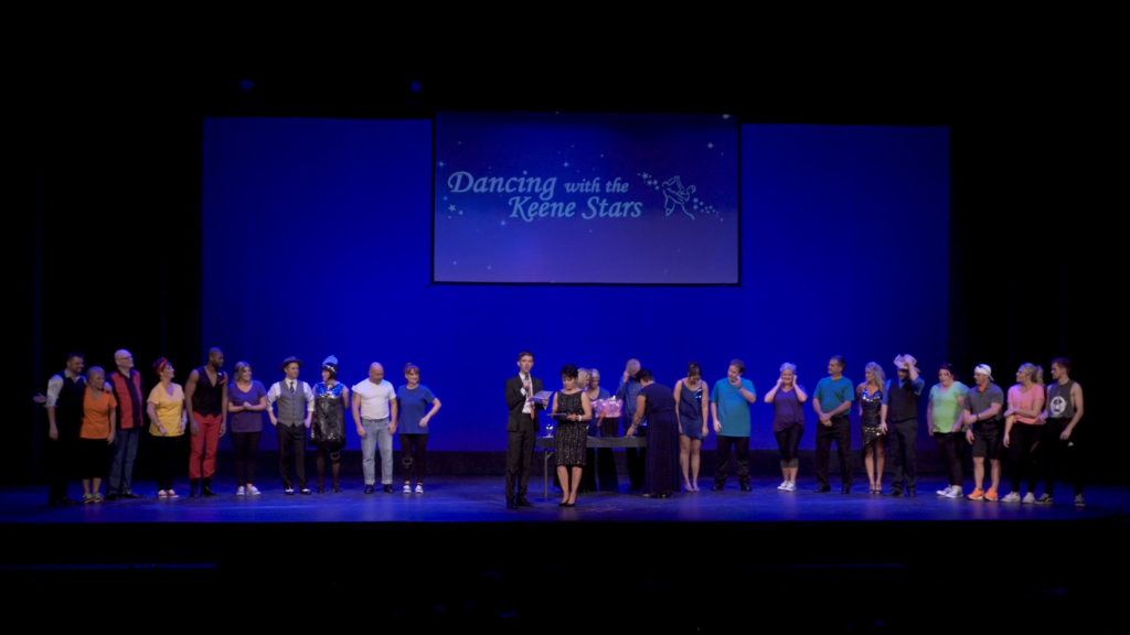 "Lighting Design, Sound and Video Support for Keene High Project Grad's Fundraiser ""Dancing with the Keene Stars"""
