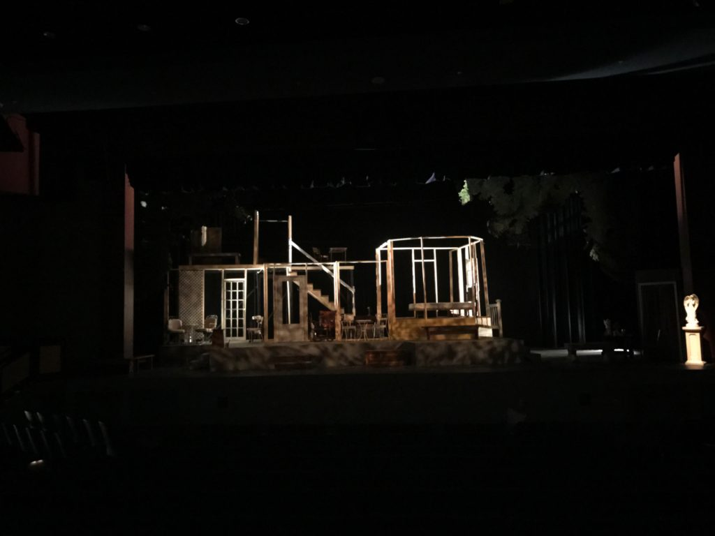 "Lighting Design for Keene High School's Production of ""Look Homeward Angel"""