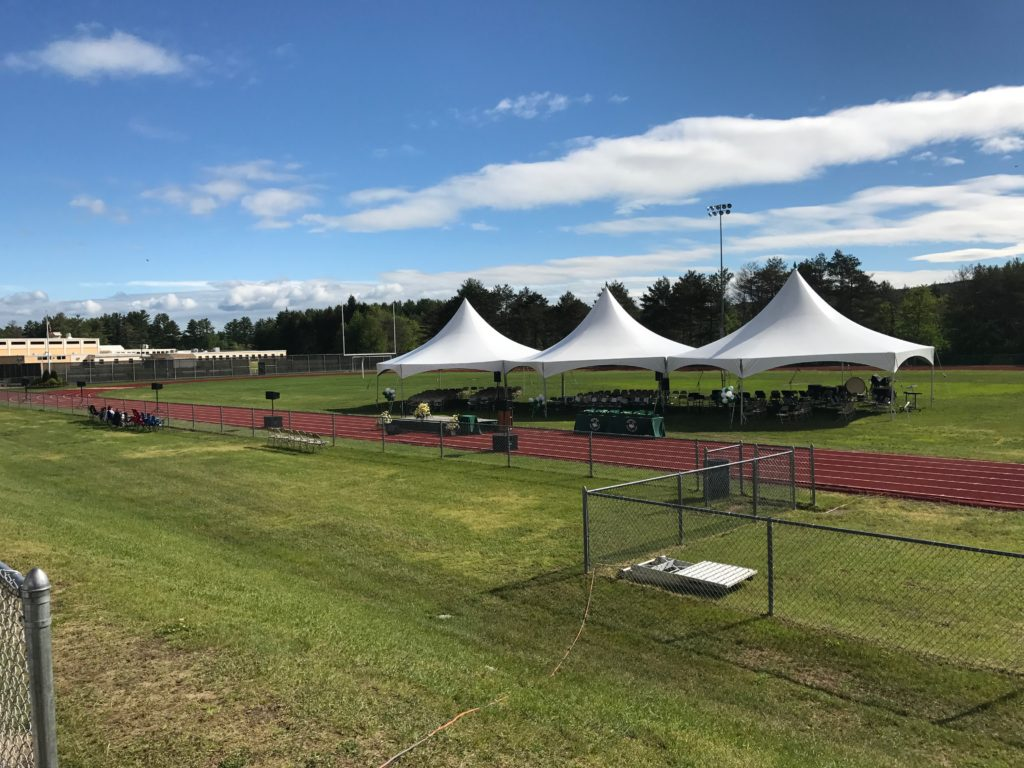 Sound for Monadnock Regional High School Graduation