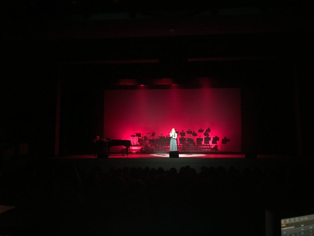 "Lighting Design and Sound Support for Keene High School's Annual Production of ""Nostalgia"""