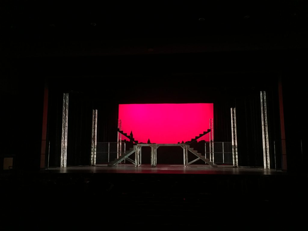 "Lighting Design and Sound Support for Keene High School's Production of ""West Side Story"""